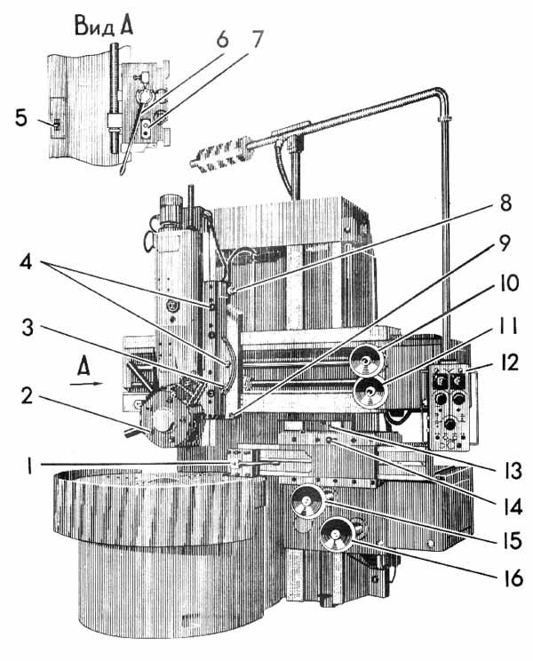 1512 Расположение органов