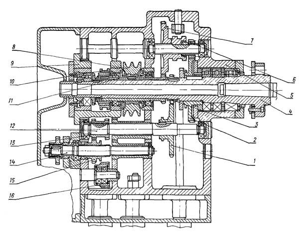 16Б05А Вариатор токарно-винторезного станка