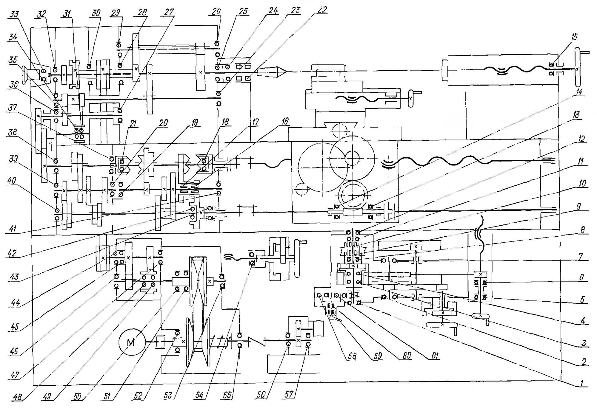 инструкция токарно-винторезного станка 16505