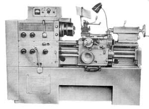 Общий вид токарно-винторезного станка 16Б16П