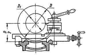 Основные размеры токарно-винторезного станка