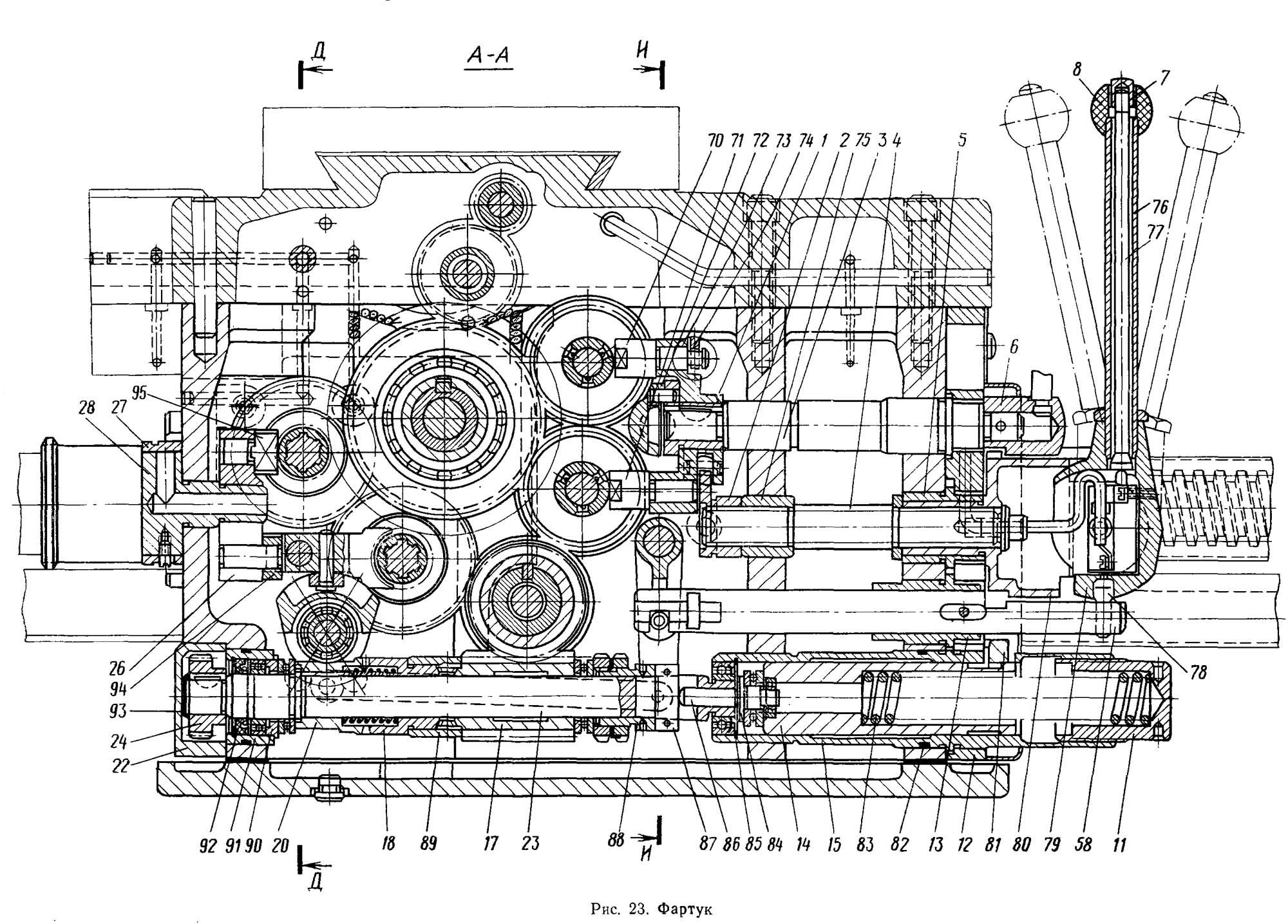 принципиальная электрическая схема станка мк6046