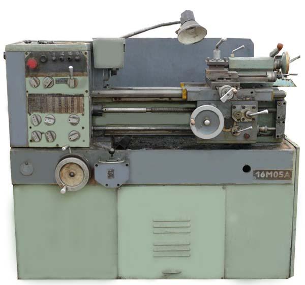 16М05А Общий вид токарно-винторезного станка