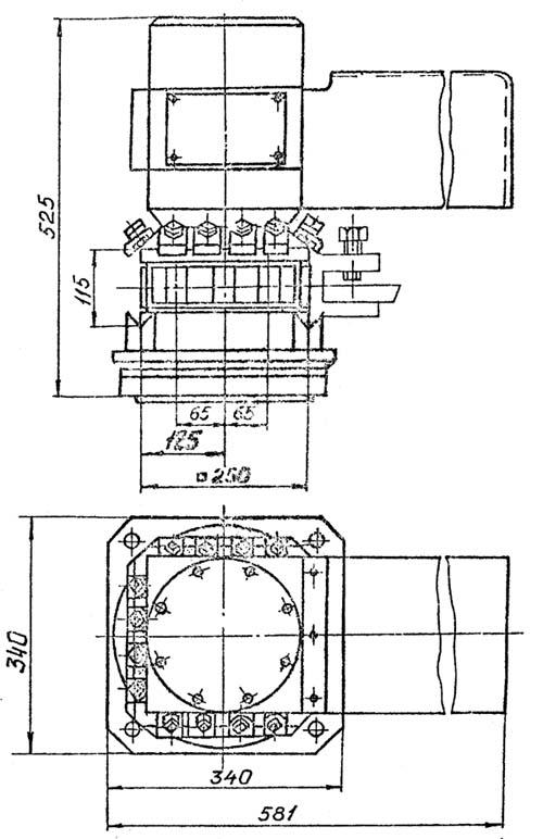 16М30Ф3 Поворотный резцедержатель токарного станка с ЧПУ