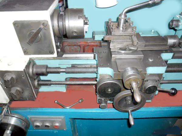 16У04П Общий вид токарно-винторезного станка