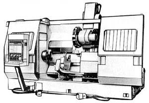 1740РФ3 Станок токарный патронно-центровой с числовым программным управлением (ЧПУ)
