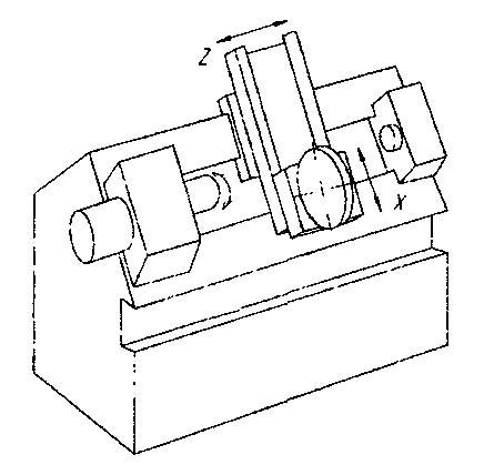 1740РФ3 компоновка токарного станка с ЧПУ