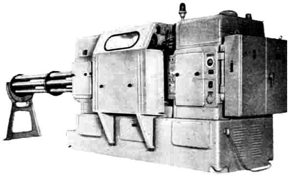 1А240 Общий вид шестишпиндельного патронного полуавтомата