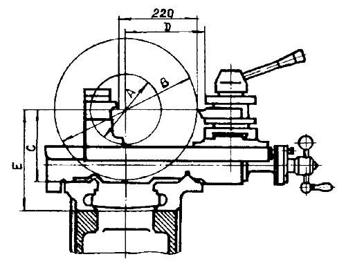 1К625Д, 1К625ДГ Суппорт токарно-винторезного станка