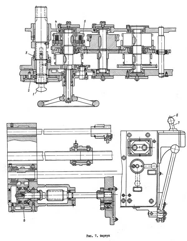 ДИП-300 Фартук станка