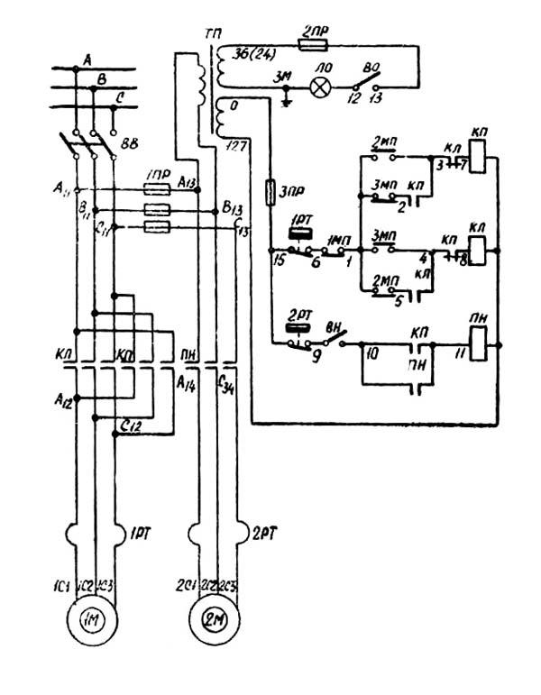 2А150 Электрическая схема