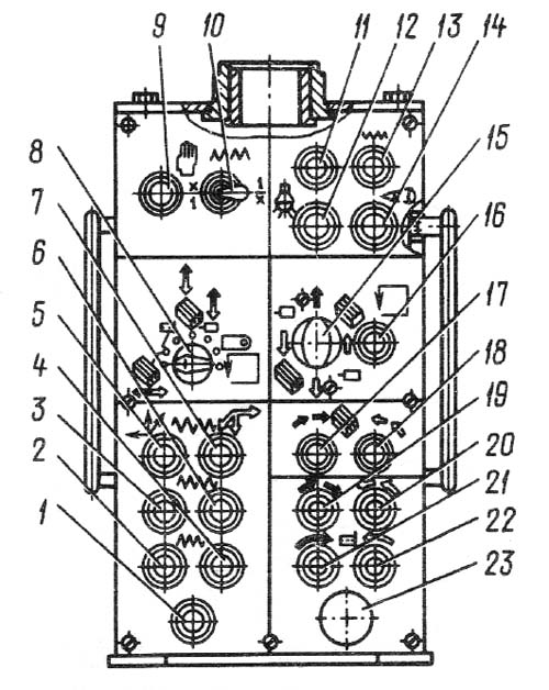 Пульт управления горизонтально-расточным станком 2А614, 2А614-1