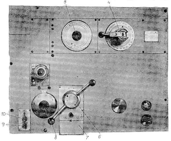 Органы управления горизонтально-расточным станком 2А622, 2А622-1
