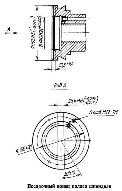 2А622Ф4 Габарит рабочего пространства горизонтально-расточного станка