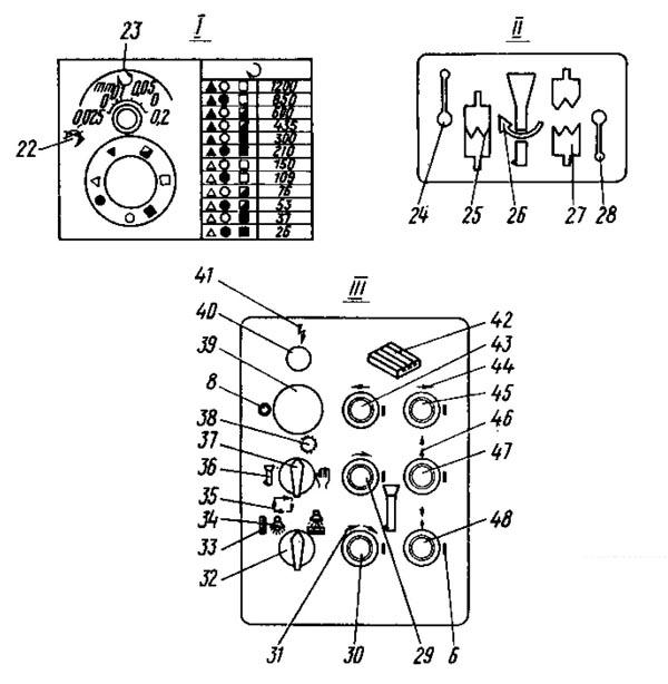 2е78п, 2е78пн Пульт управления отделочно-расточного станка