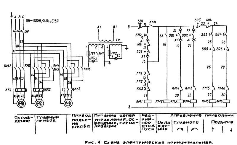 2К522 Схема Электрическая