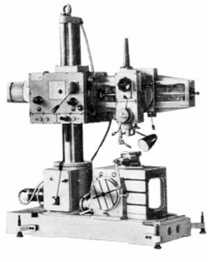 Фото переносного радиально-сверлильного станка 2К52