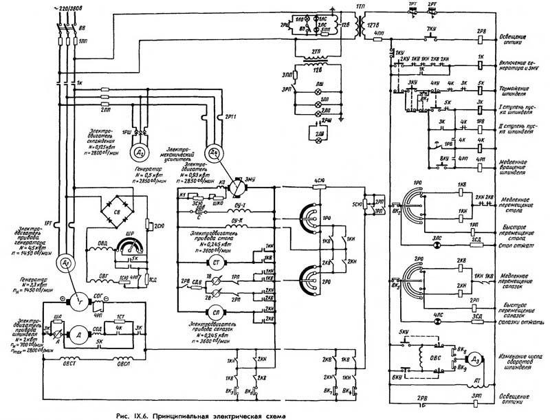 2В440А Схема электрическая
