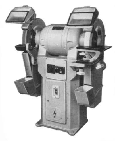 3Б634 Общий вид точильно-шлифовального станка