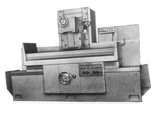 3Д722 общий вид универсального плоскошлифовального станка с горизонтальным шпинделем