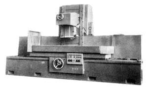 3Д725 общий вид универсального плоскошлифовального станка с горизонтальным шпинделем