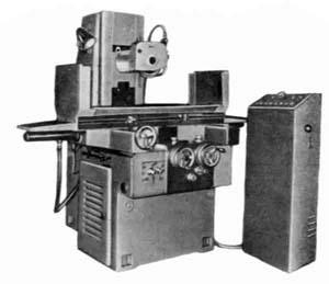 3Г71М общий вид универсального плоскошлифовального станка с горизонтальным шпинделем