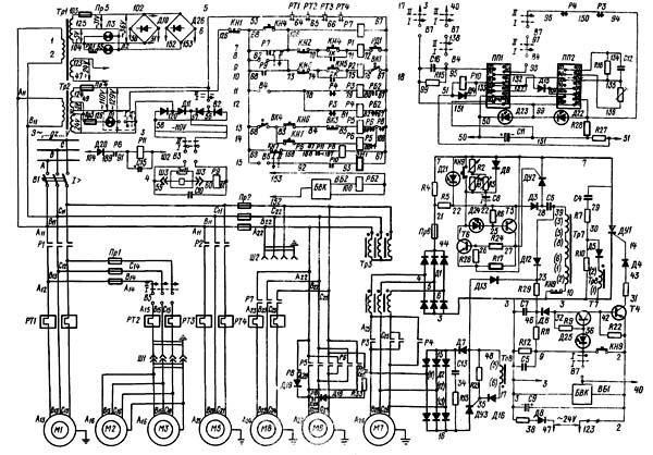 Схема электрическая плоско