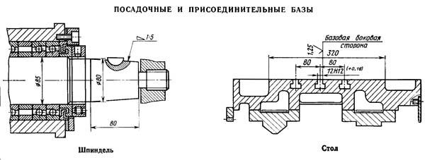 станка 3Л722В