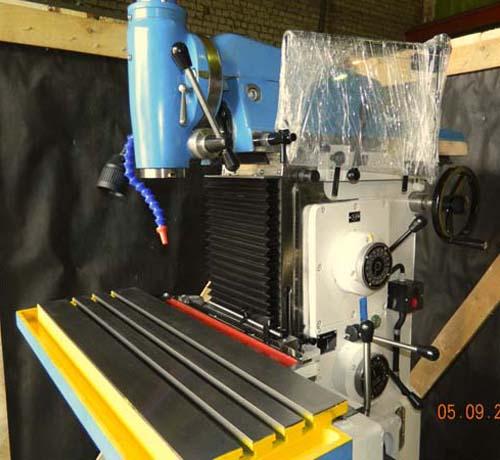 СФ-676 Общий вид расточного широкоуниверсального фрезерного станка