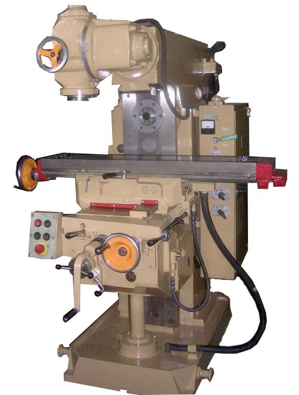 Общий вид 6Д81Ш cтанок широкоуниверсальный консольно-фрезерный