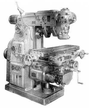 Станок широкоуниверсальный фрезерный консольный 6М82Ш