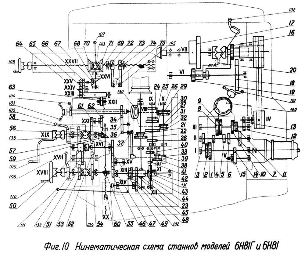 схема электрооборудования станка 692д