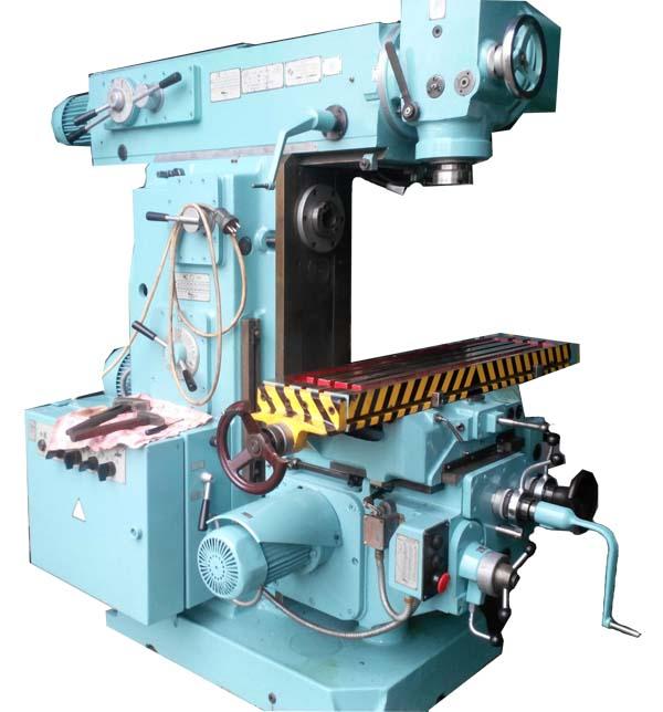 6Р81Ш Общий вид широкоуниверсального консольно-фрезерного станка