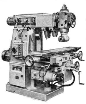 6Р82Ш Станок широкоуниверсальный фрезерный консольный