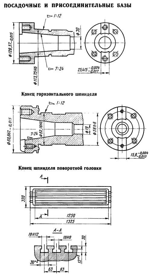 фрезерного станка 6Т82Ш