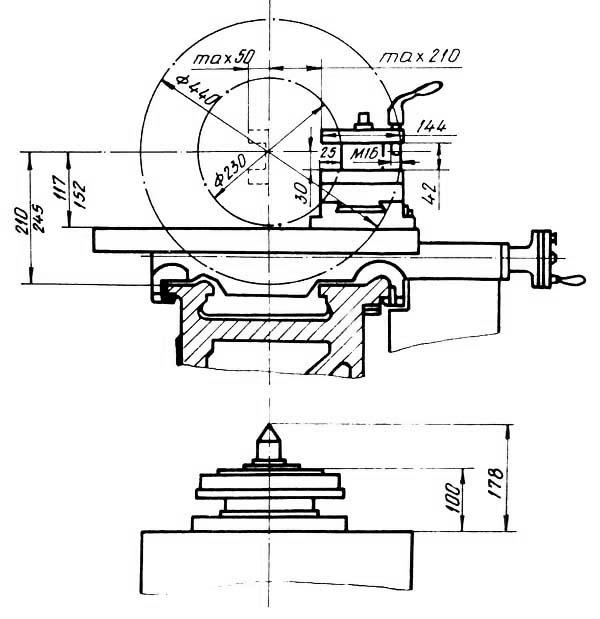 СУ-500 (CU 500) Станок токарно-винторезный. Габариты рабочего пространства