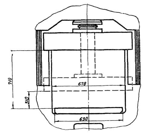 д2430б Габаритные размеры рабочего пространства гидропресса