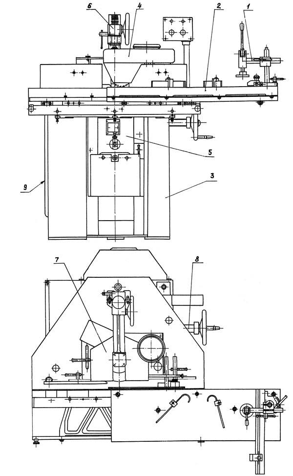 частей фрезерного станка