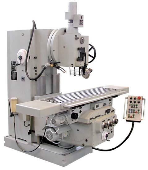 FSS-400 Общий вид консольно-фрезерного станка