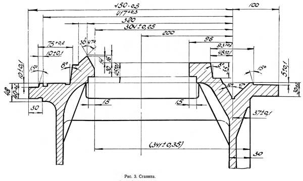 Посадочные и присоединительные базы универсального токарно-винторезного станка 16Б25ПСп