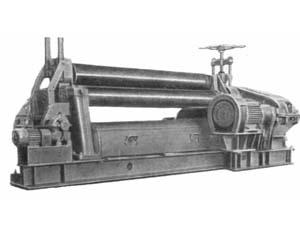 И2222 Машина листогибочная трехвалковая для гибки листового металла