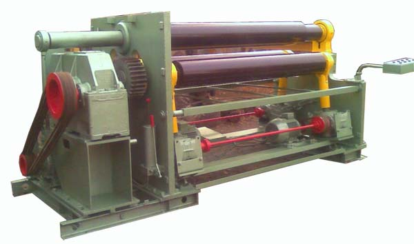 ИБ-2222 Общий вид машины листогибочной трехвалковой