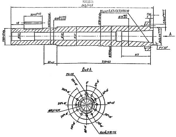 ИТ-42 Посадочные и присоединительные базы токарного станка