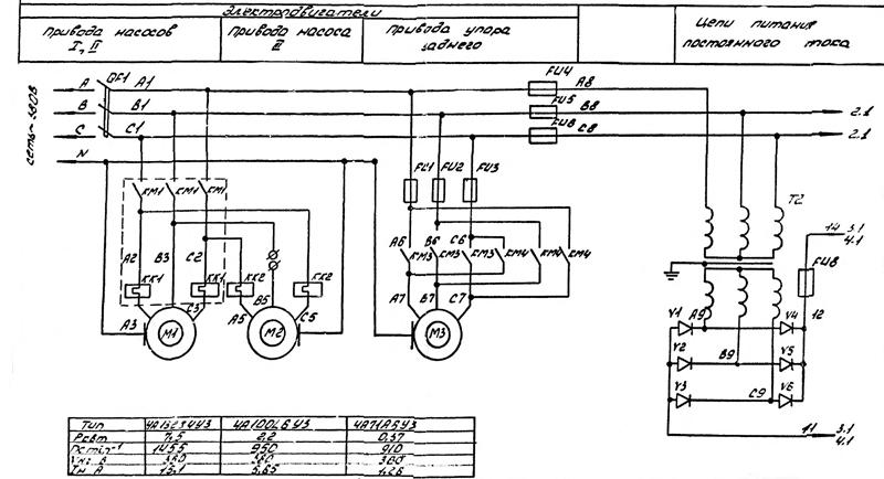 ИВ-2144 Схема электрическая