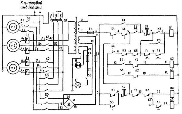 ИЖ-250 Схема электрическая