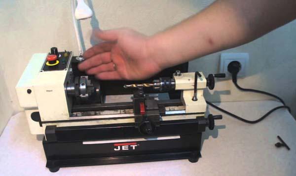 Jet BD-3 Общий вид токарного станка