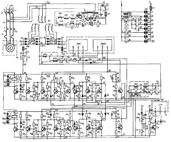 КД2322 Схема электрическая