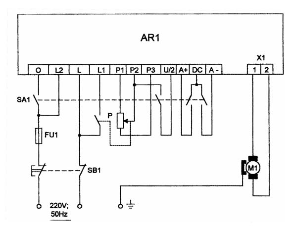 Корвет-401 Схема электрическая