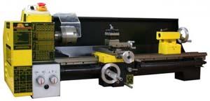Общий вид токарно-винторезного станка Корвет-403