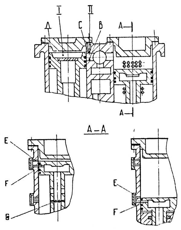 МА4129А Буферное устройство и воздухопополнение ковочного молота